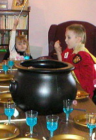 Cauldron Punch for Harry Potter Party