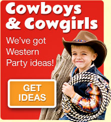 Cowboys & Cowgirls - Get ideas for your western party.